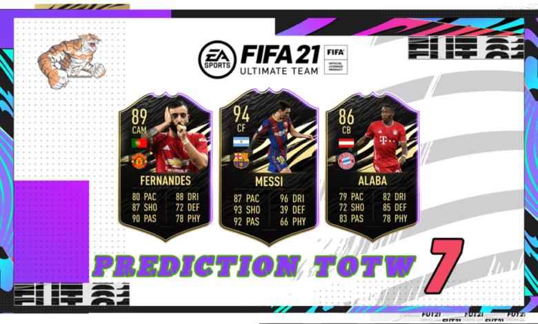 FIFA 21: Predicción TOTW 7 del modo Ultimate Team