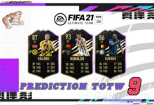 FIFA 21: Predicción TOTW 9 del modo Ultimate Team