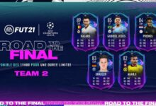 FIFA 21: RTTF Team 2 - tarjetas dinámicas UCL y UEL