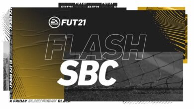 FIFA 21: SBC Flash Black Friday - Requisitos y recompensas