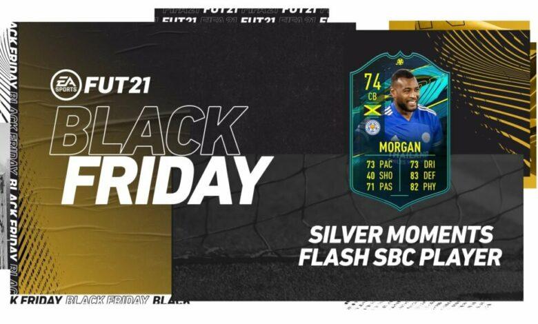 FIFA 21: SBC Flash Wes Morgan Silver Moments - Requisitos y soluciones