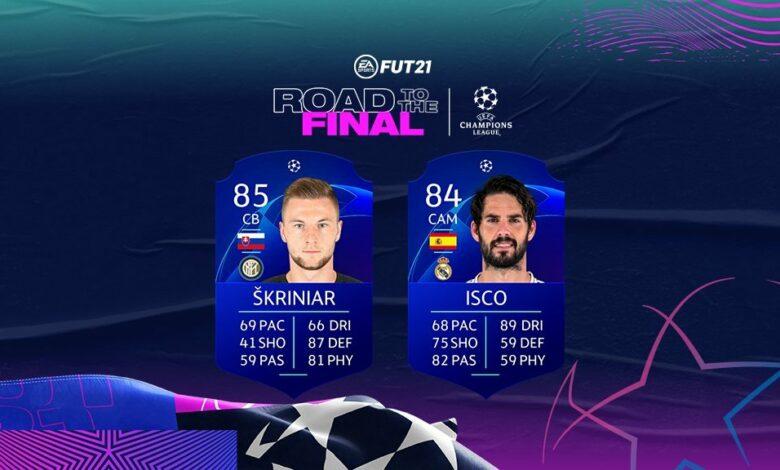 FIFA 21: SBC Isco Road To The Final - Se ha anunciado un nuevo desafío de creación de plantillas