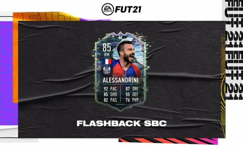 FIFA 21: SBC Romain Alessandrini Flashback Era - Requisitos y soluciones