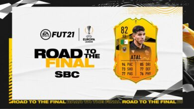 FIFA 21: SBC Youcef Atal Road To The Final - Requisitos y soluciones