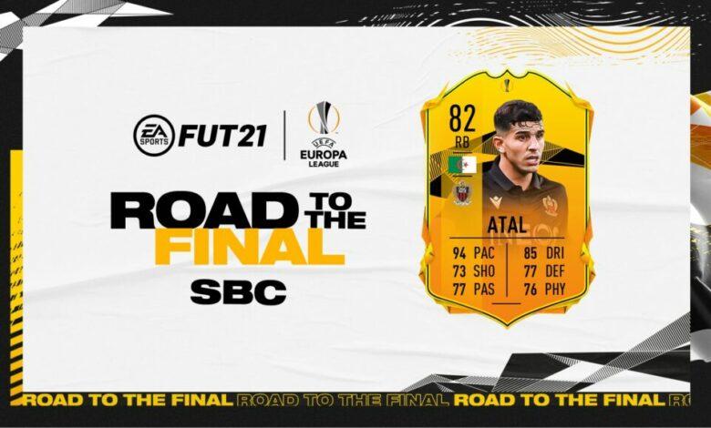 FIFA 21: SBC Youcef Atal Road To The Final - Requisitos y soluciones