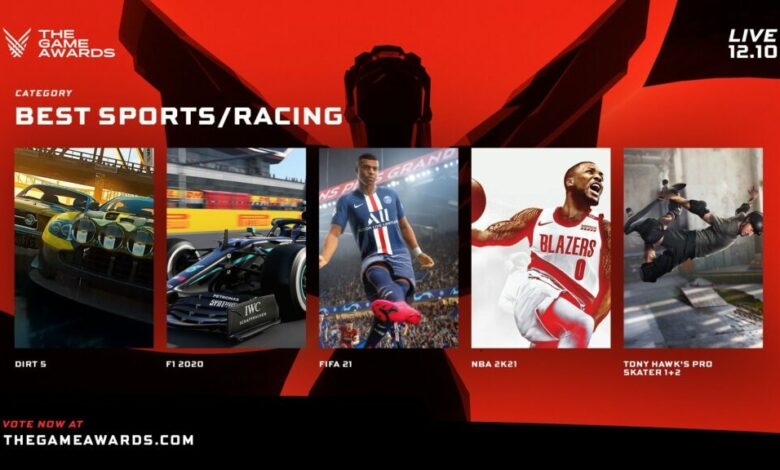 FIFA 21: The Game Awards 2020 - Il titolo di EA Sports inserito tra le Nomination