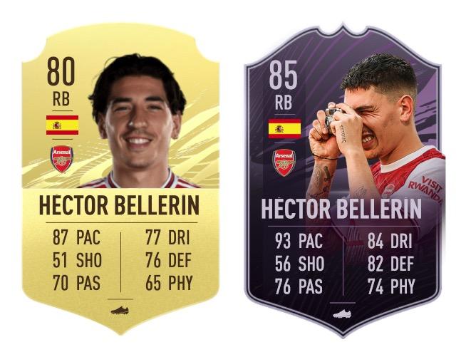 FIFA 21 Bellerin