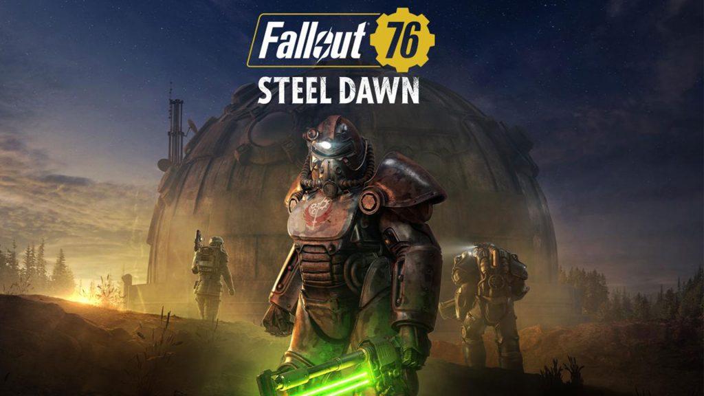 Fallout 76: actualización de Steel-Dawn