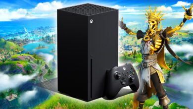 Fortnite: tus partidos en Xbox Series X se ven tan bonitos