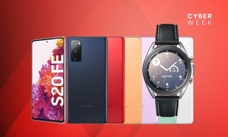 Galaxy S20 FE con Watch 3 y tarifa LTE al mejor precio en Media-Saturn