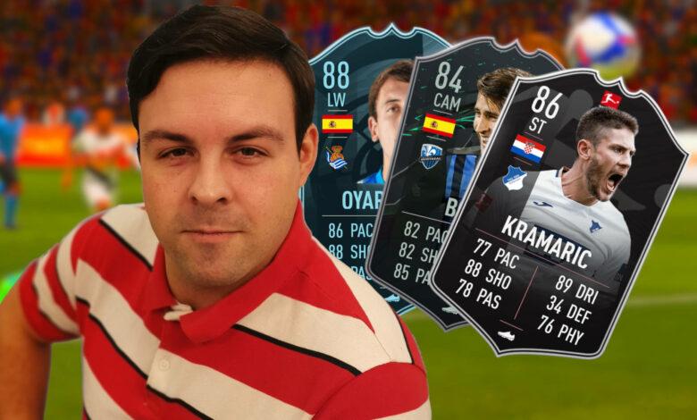 Hola FIFA 21, ¿por qué todos obtienen cartas geniales y miro en el tubo?