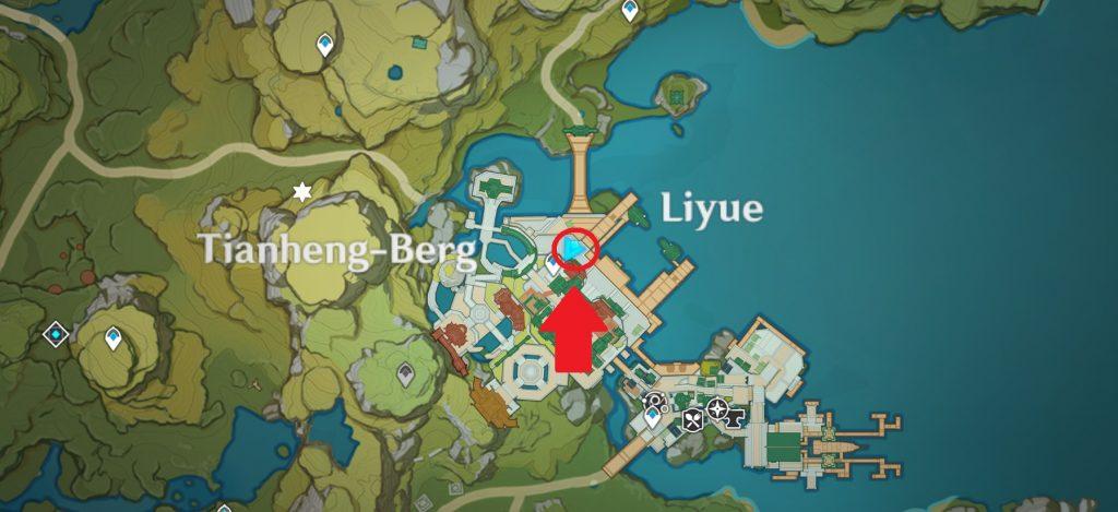 Mapa del día 7 del evento de caja de botín de impacto de Genshin