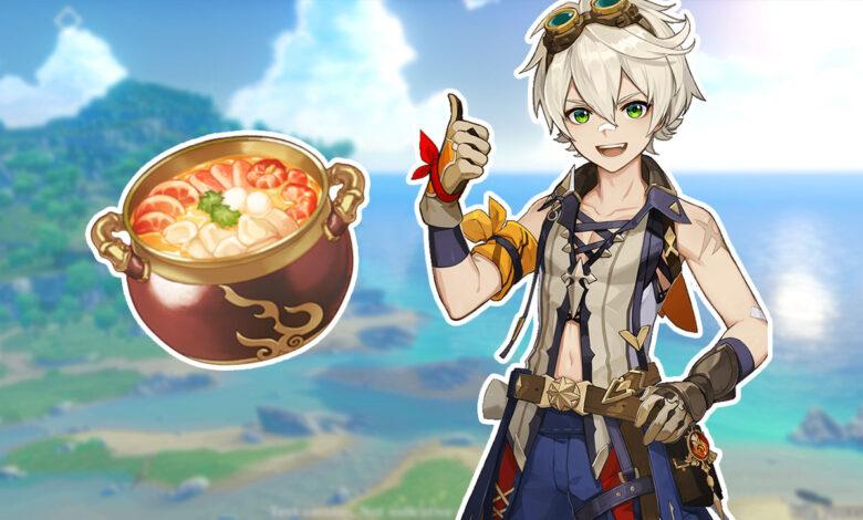 Impacto de Genshin: así es como puede encontrar todas las nuevas recetas de la Actualización 1.1