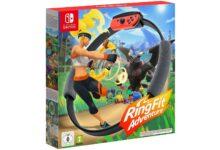 Juego de fitness Ring Fit Adventure para Nintendo Switch barato en Amazon