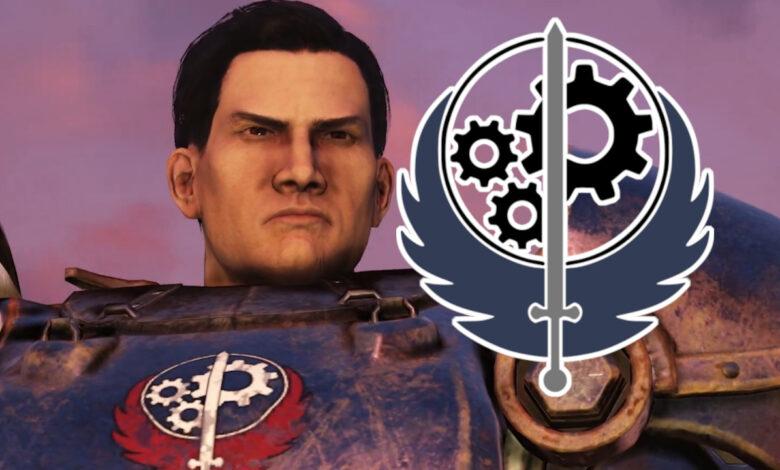 La Hermandad del Acero llega a Fallout 76, pero ¿quién es de todos modos?