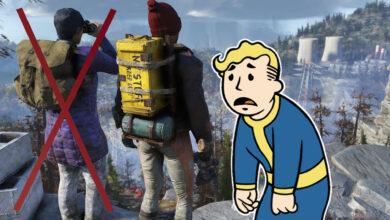 La nueva actualización de Fallout 76 es bien recibida, excepto para los jugadores en solitario