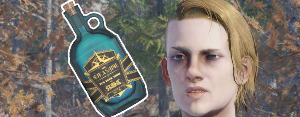 Fallout 76 títulos de desafío borracho con Nukashine