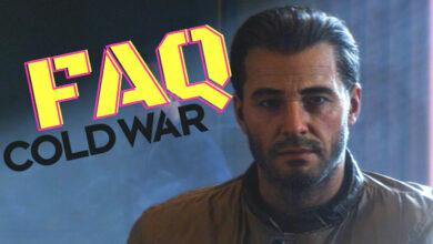 Las preguntas más importantes sobre CoD Black Ops Cold War respondidas rápidamente - Preguntas frecuentes sobre el lanzamiento