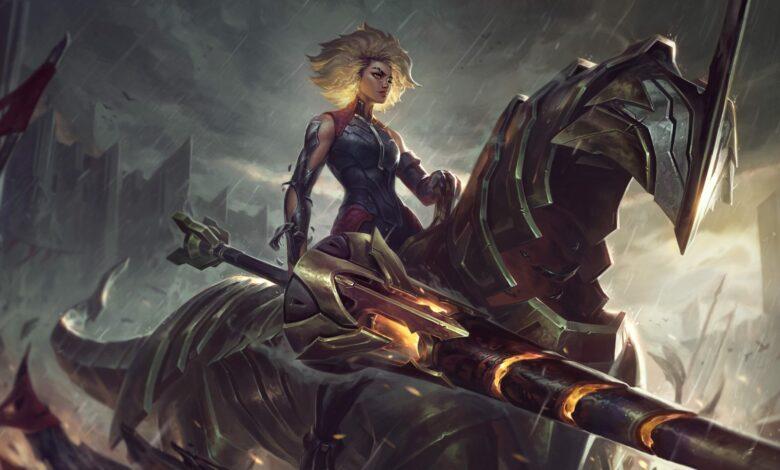 LoL obtiene un nuevo Champion Rell: puede montar y robar tu defensa