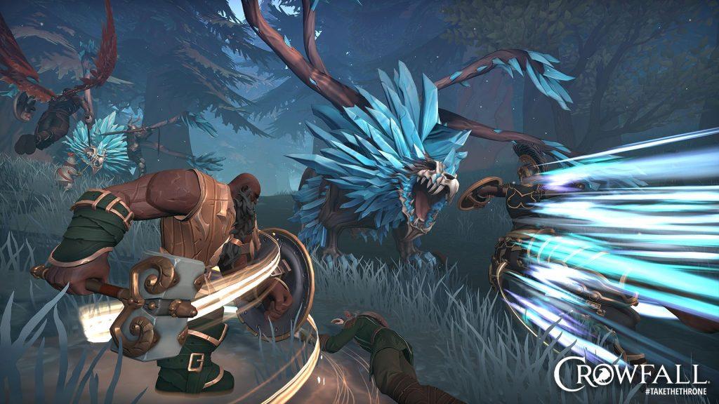 Captura de pantalla de Crowfall Revival