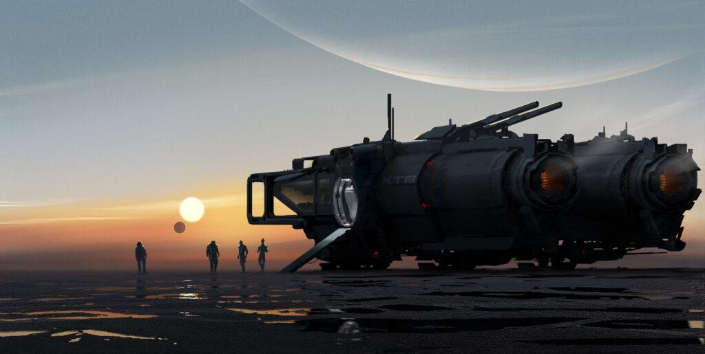 Capitán de barro Mass Effect