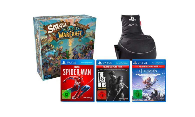 MediaMarkt Gönn-Dir-Tuesday: juegos de PS4 y juego de mesa WoW en oferta