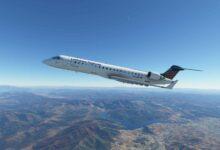 """Photo of Microsoft Flight Simulator CRJ recibe una actualización para desarrolladores de Aerosoft; Explicación de la característica gráfica """"más emocionante"""""""