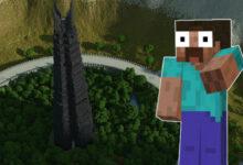 Minecraft: los fanáticos han estado trabajando en este mega proyecto para El señor de los anillos durante 10 años