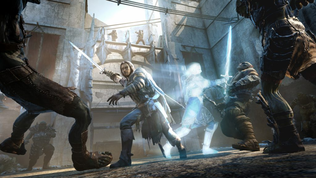 Batalla de captura de pantalla de la Tierra Media Shadow of Mordor