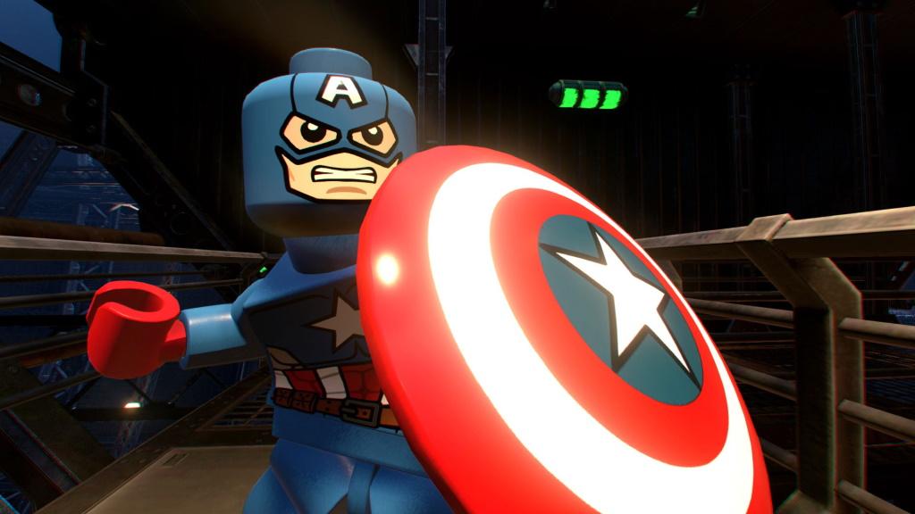 Lego Marvel Superheroes 2 Capitán América