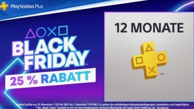 PS Store: obtenga 1 año de PS Plus un 25% más barato en la oferta del Black Friday