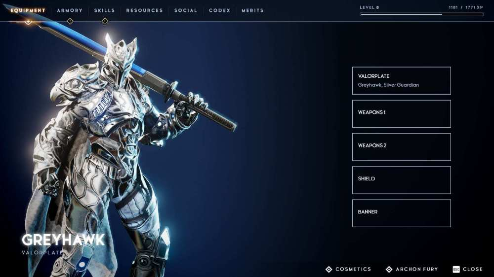 personalización de personajes de Godfall