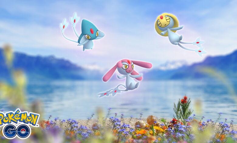 Pokémon GO comienza el evento con el trío de lagos y Shiny Goldini, eso está adentro