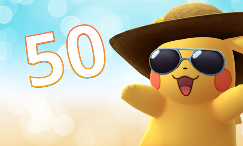 Pokémon GO Level 50 Titel