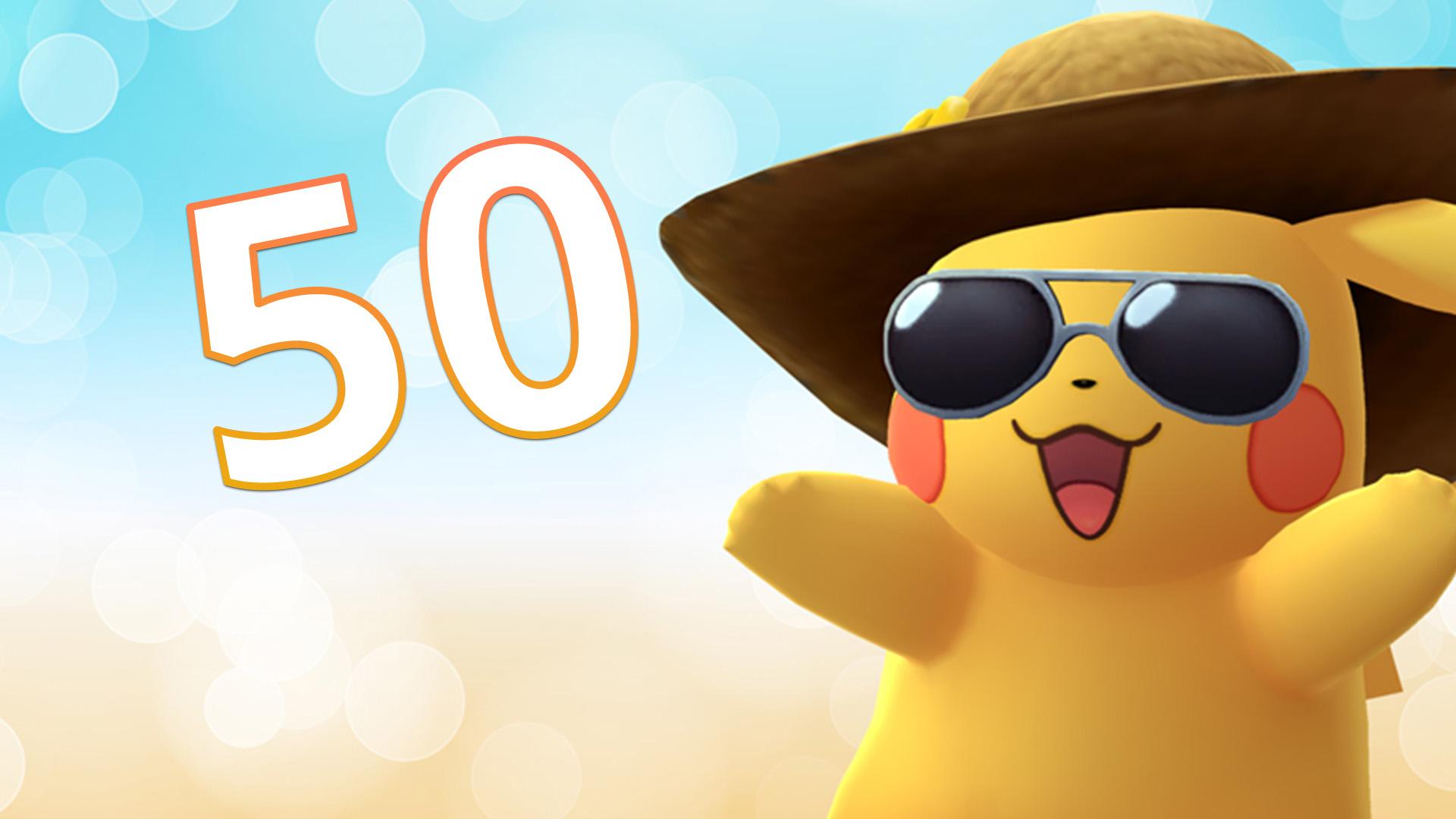 Título de Pokémon GO Nivel 50
