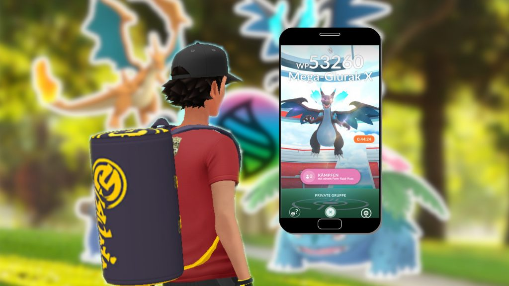 Pokémon GO Mega Raids