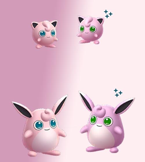 Pokémon GO Shiny Jigglypuff