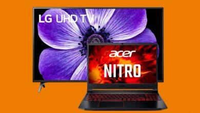 Portátil gaming con RTX 2060 y LG UHD TV al mejor precio en Saturn