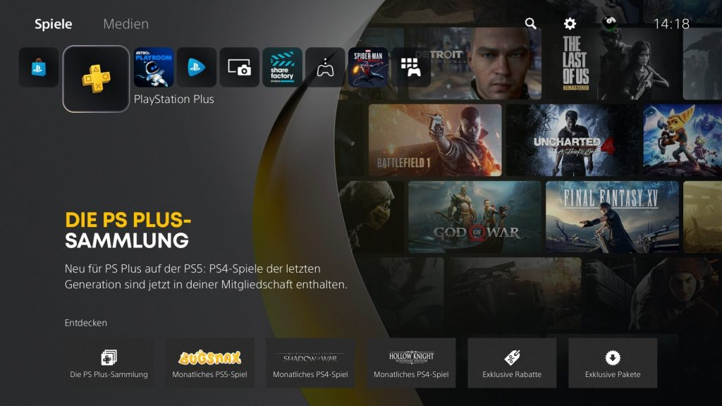 PS Plus en PS5 gamepro