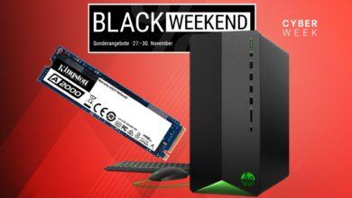 SSD rápidos, PC para juegos baratos y más reducidos en Cyberport
