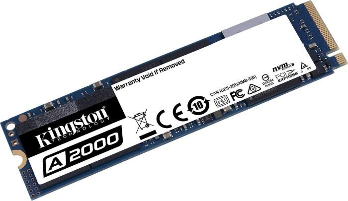 Unidad SSD PCIe NVMe A2000 de Kingston de 1 TB