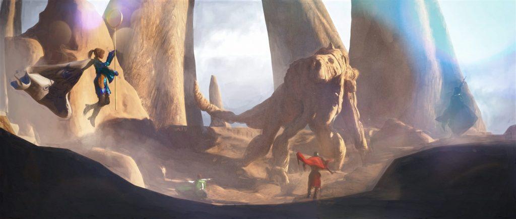 Obras de arte de Lands of Kehliel
