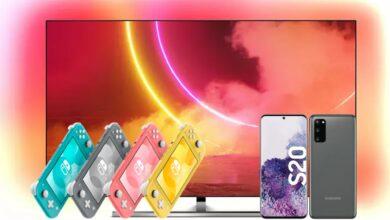 Televisor OLED de Philips al mejor precio, Switch Lite reducido y más en Saturn