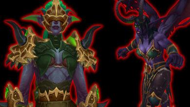 WoW: Demon Hunter nivela como debería, casi ciego