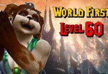 WoW Shadowlands: ¡Uff! Primer jugador en el nivel 60 después de 3 horas