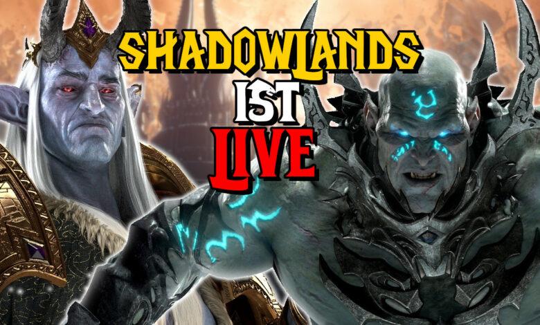 WoW: Shadowlands ya está disponible. A partir de ahora puedes ir a las Tierras Sombrías.