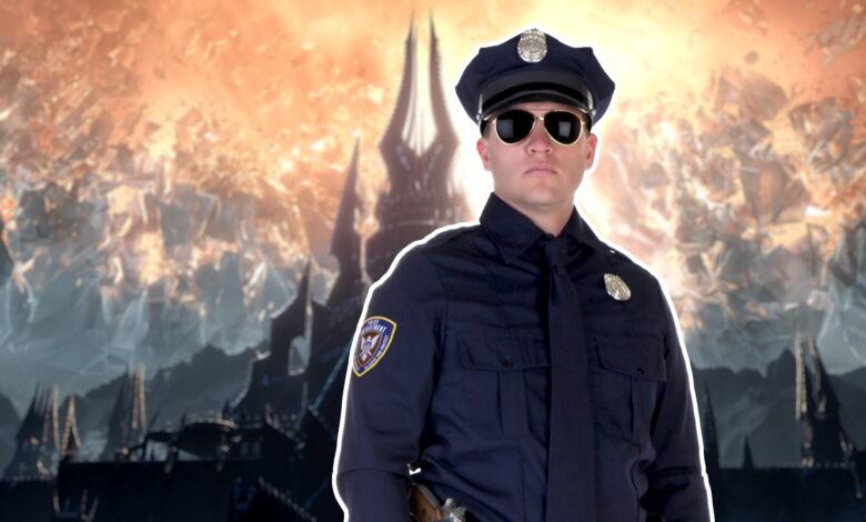 WoW: Streamer corre a casa demasiado rápido para Shadowlands: la policía lo entiende