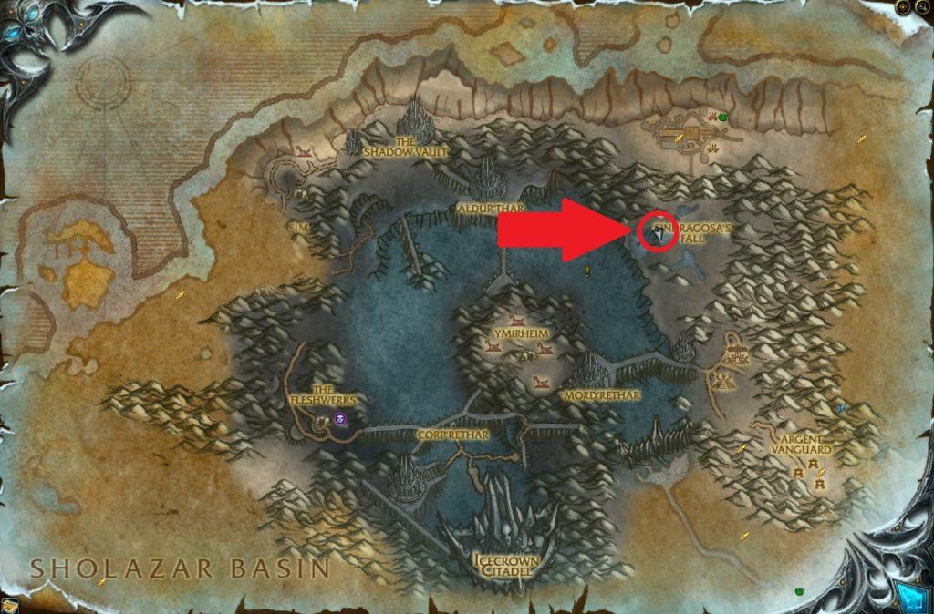 Mapa de WoW Bronjahm