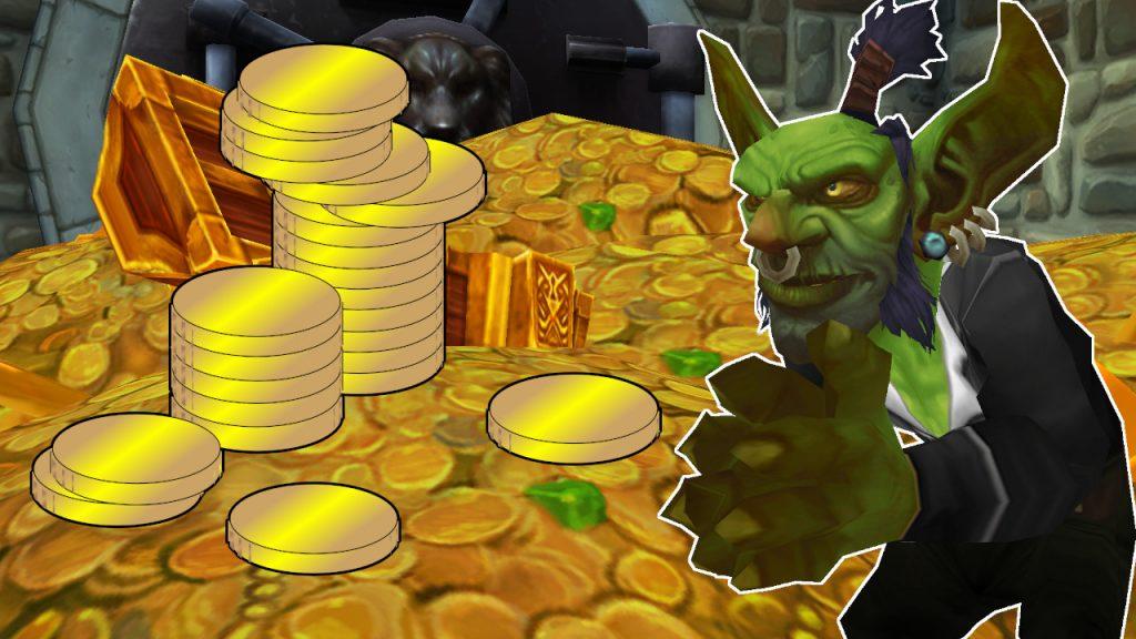 WoW Gold Goblin en el título del banco 1280x720
