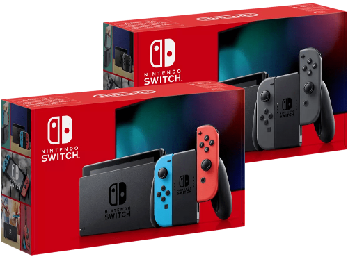 Nintendo Switch en dos colores